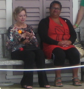 Waitangi 2013 - Dame Claudia Orange and friend