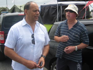 Waitangi 2013 - Mike Butler & Willy Jackson