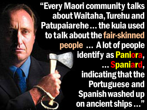David Rankin - Every Maori community talks about fair-skinned people