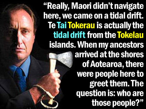 David Rankin - Maori didn't navigate here - Te Tai Tokerau tidal drift from Tokelau