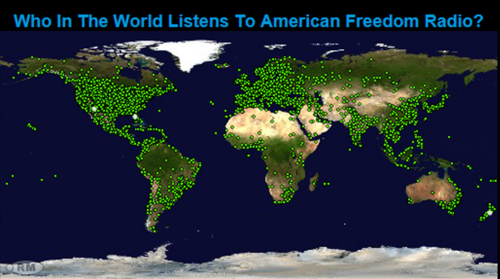 Vinny Eastwood Show - Who listens to American Freedom Radio