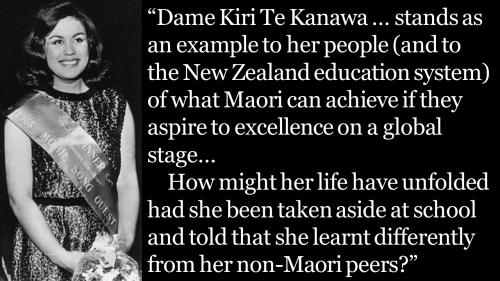 Teacher training - Kiri Te Kanawa